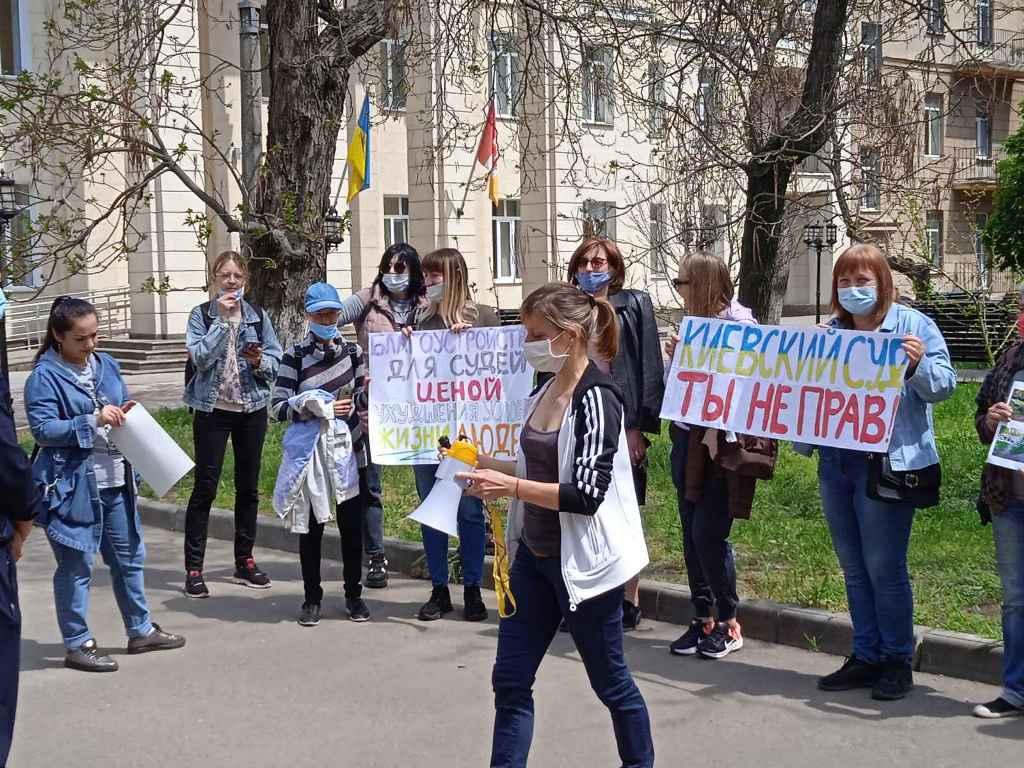 жители Черемушек вышли на пикет6