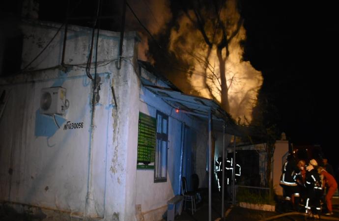 В пожаре на Еврейском кладбище в Одессе погибла женщина