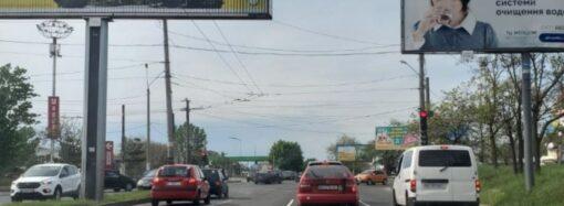 В Одессе сделали 4-полосным перекресток проспектов Небесной Сотни и Глушко – новые правила проезда