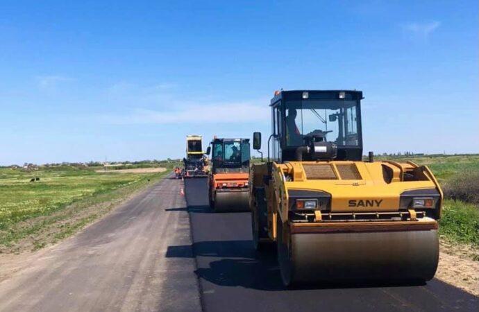 В Одесской области возобновили ремонт дороги Измаил – Вилково