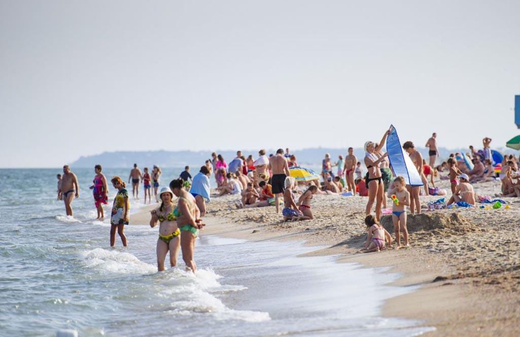 Сергеевка пляж