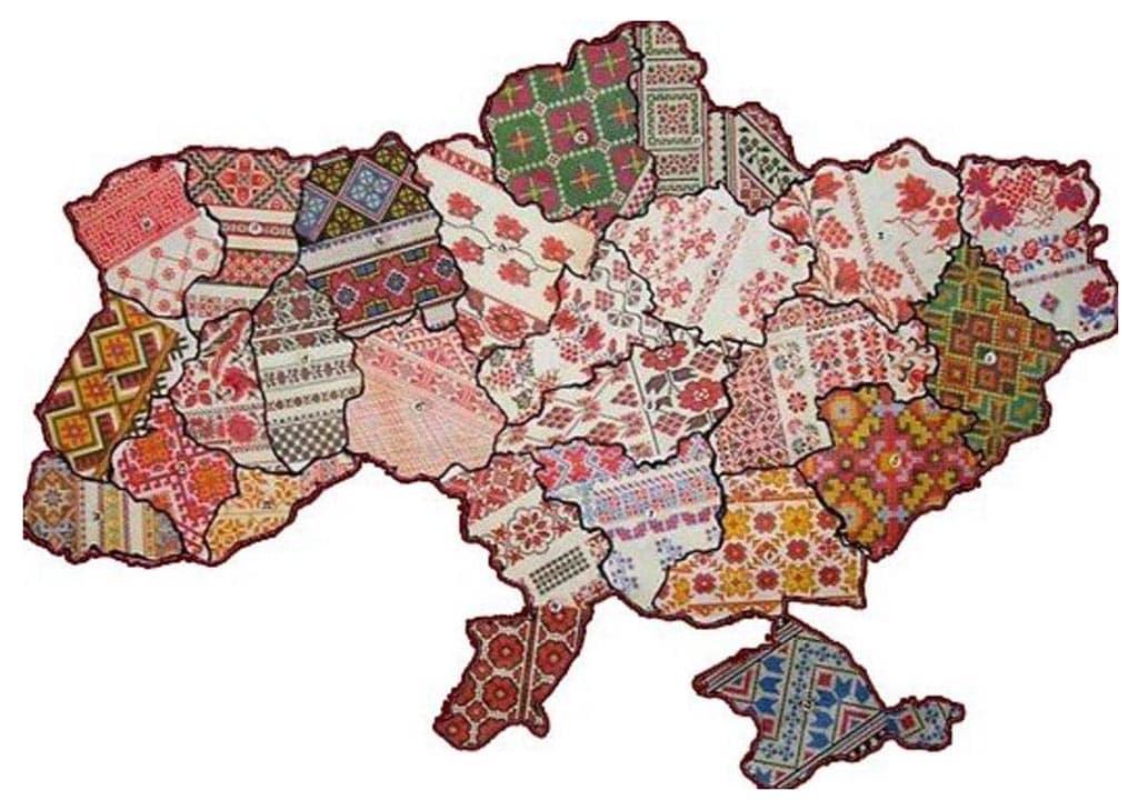 украина узоры вышивка
