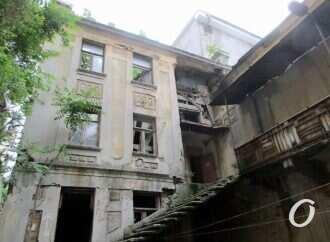 Жители одесского дома Нолле соберутся на митинг против разрушения типографии Фесенко и кинотеатра Ришелье