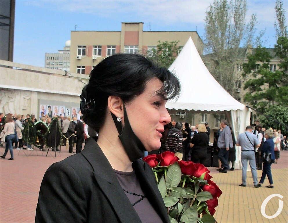 похороны Николая Завгороднего, Ирина Ковальская