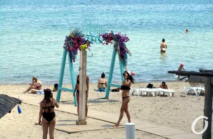 Температура морской воды в Одессе 12 июля: комфортно ли купаться море