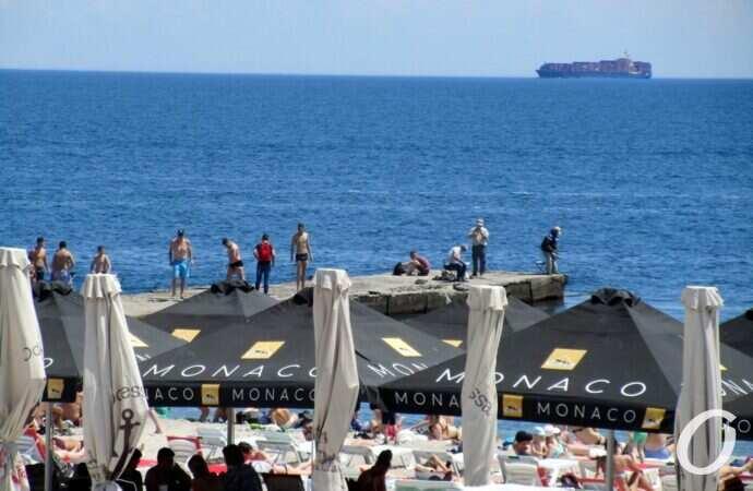 Температура морской воды в Одессе 30 июня