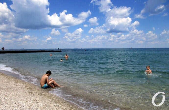 Температура морской воды в Одессе 27 июня: море прогрелось еще на градус