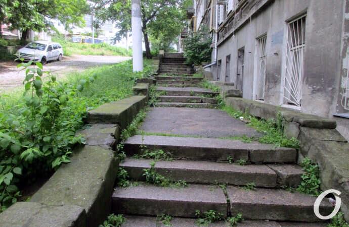 В Одессе будут ремонтировать «таинственную» лестницу на Градоначальницкой (фото)