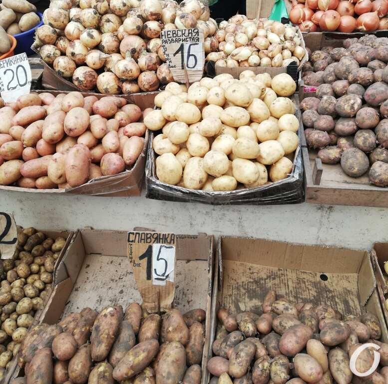 Привоз, картошка и лук