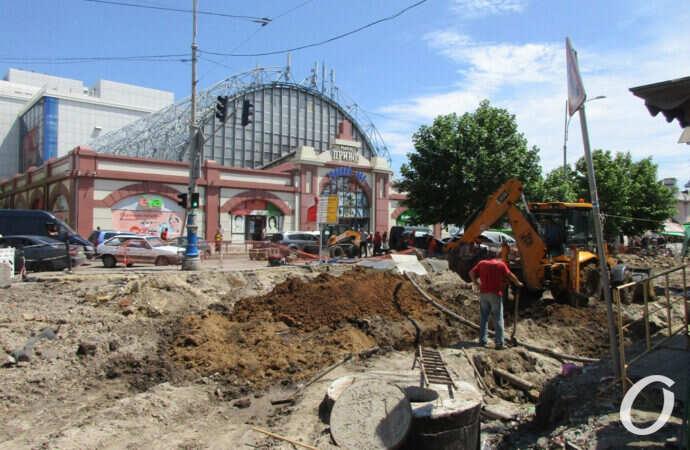 Квартал Преображенской у Привоза: что сейчас происходит и когда закончат ремонт? (фото)