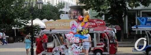Лето по-одесски: Дерибасовская отмечает окончание первого полугодия 2021-го (фоторепортаж)