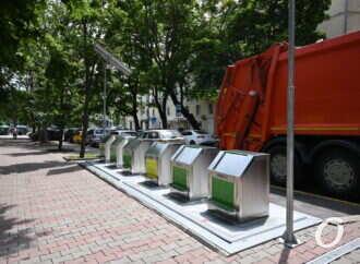 В Одессе устанавливают подземные мусорные контейнеры – зачем им солнечные батареи и WiFi?