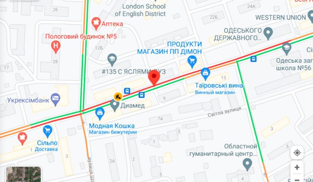 пробки 22 июня, Черняховского