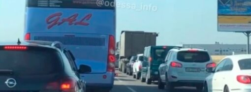 Пробки и ДТП в Одессе 16 сентября: авария на Адмиральском парализовала движение