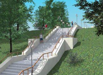 В Одессе начали ремонтировать «атмосферную» Курсантскую лестницу (фото)
