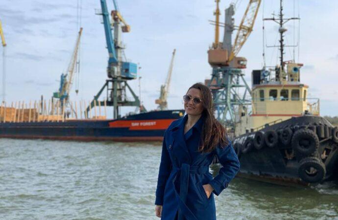 В Одесской области руководить портом будет женщина