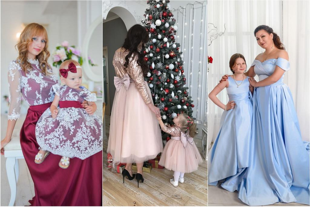 Family Look – Платье для мамы и дочки
