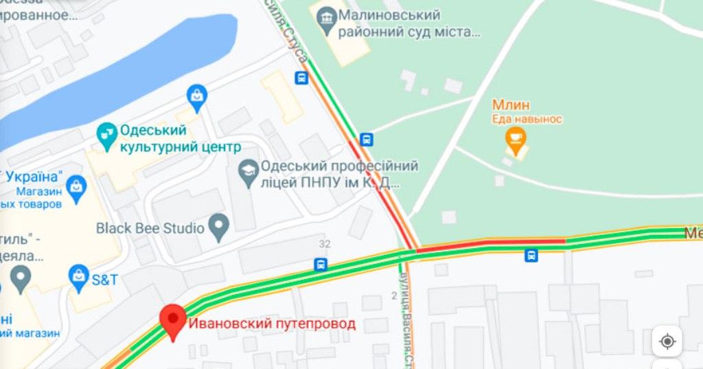 пробка 29 июня, Ивановский мост