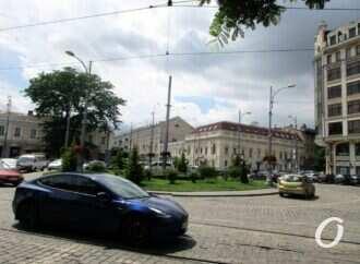 Новая жизнь старой Одессы: цветущий круг Тираспольской площади (видео)