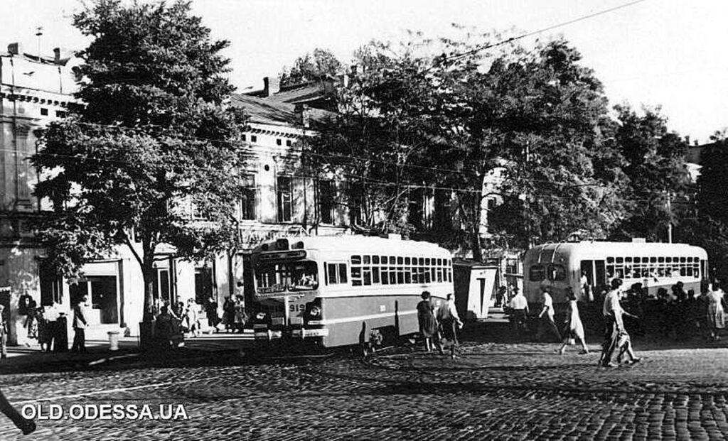 Тираспольская площадь 60-е годы прошлого века