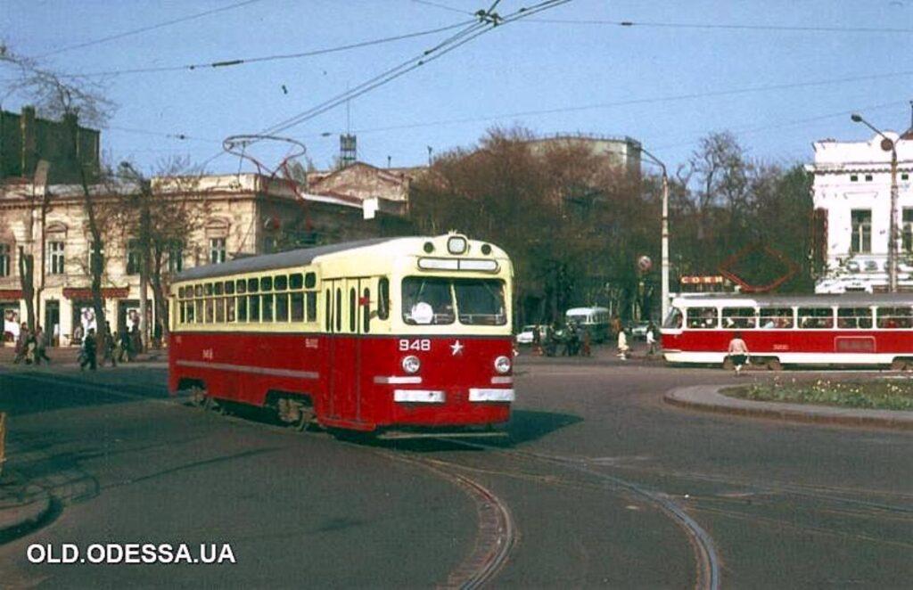 Тираспольская площадь 70-е годы прошлого века