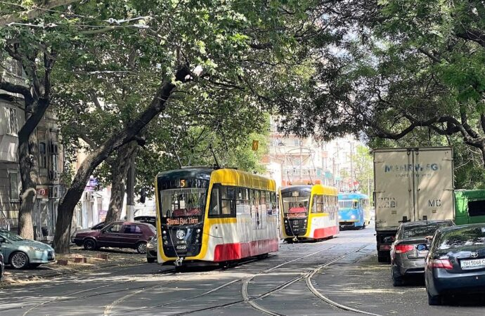 В Одессе будут ремонтировать трамвайные пути на углу Пантелеймоновской и Старопортофранковской