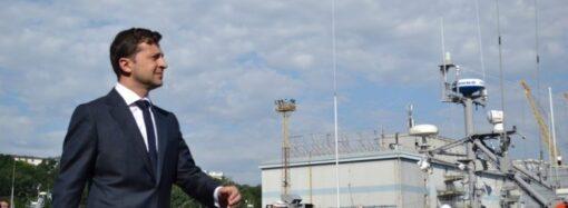 Зеленский может посетить Одессу в День военно-морских сил, – СМИ