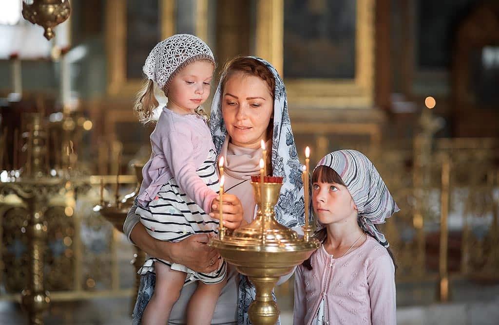 церковь семья религия