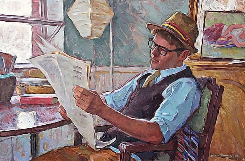 читатель газет