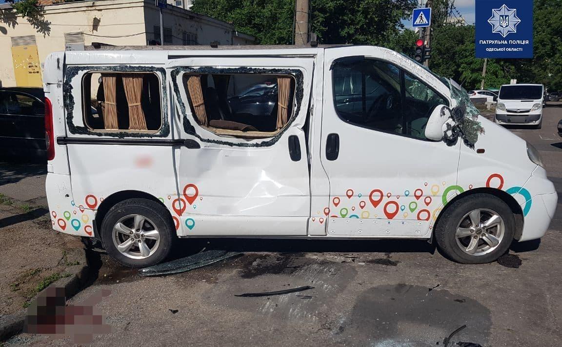 ДТП на Молдаванке 18 июня2