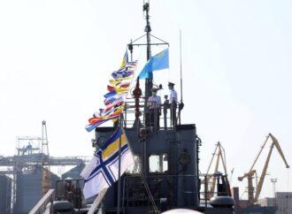 В Одессе на буксире, сражавшемся с российским флотом, подняли крымскотатарский флаг