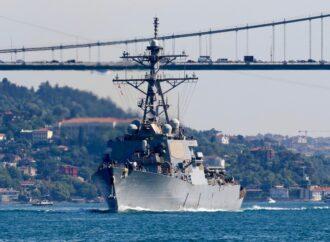 В Черное море вошел пятый с начала года корабль США