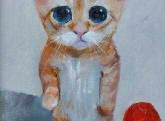 В одесской галерее открылась выставка картин про котиков (у выставки есть секреты)