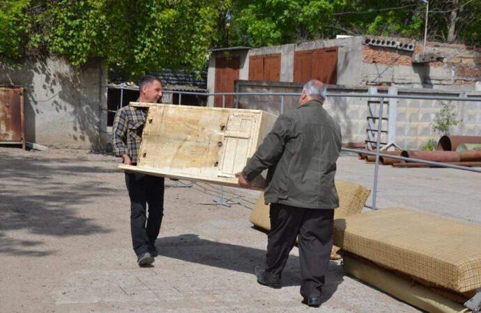 В Одессе открыли еще одну площадку для сбора крупногабаритного мусора