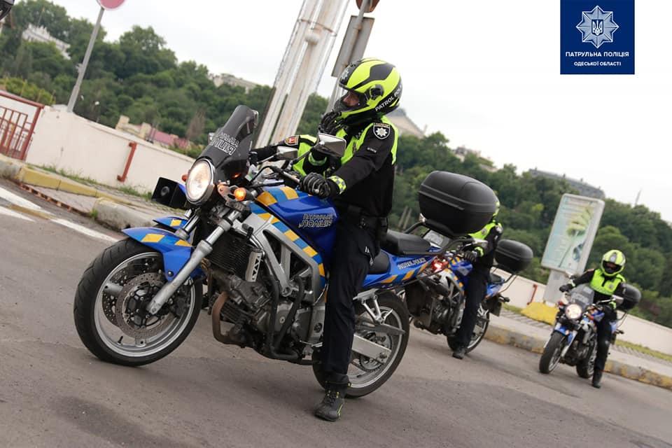 патрульный на мотоцикле