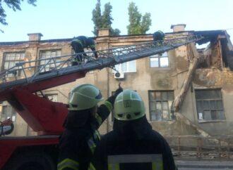 На одесской Молдаванке обрушилась часть бывшего завода (фото)