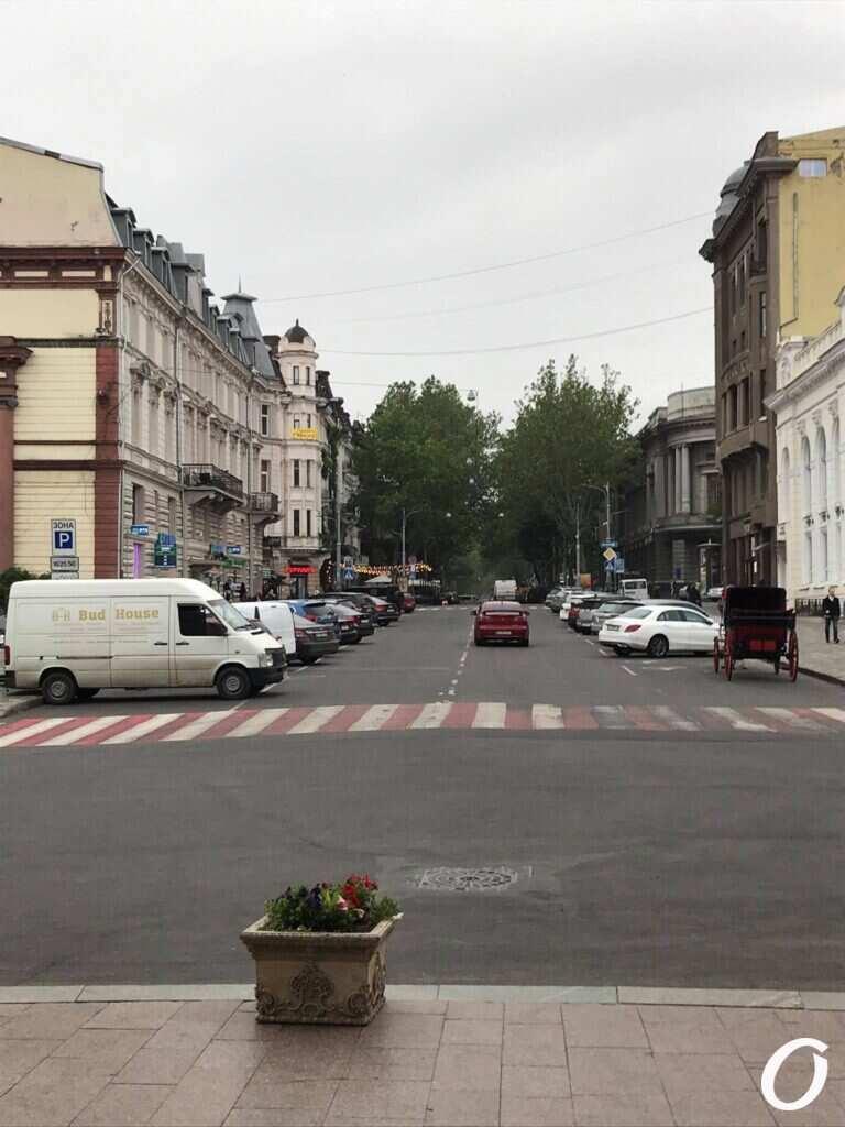 автомобиль едет по улице