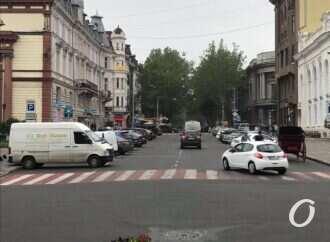 Непешеходный центр: в Одессе зона без авто на этот раз не получилась (фото)