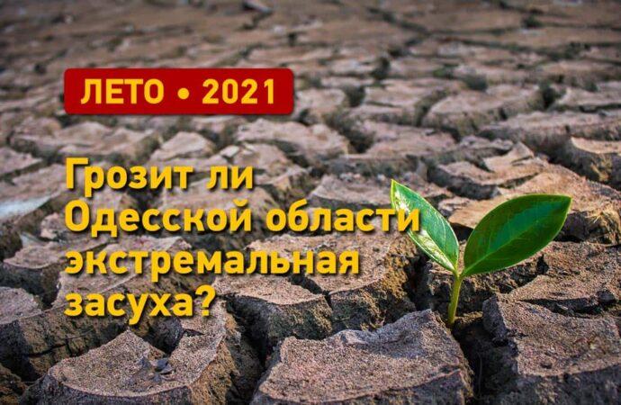 Погода летом 2021: грозит ли Одесской области экстремальная засуха?