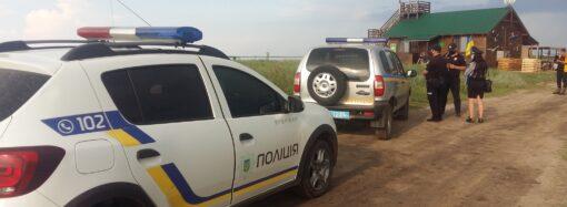 В Одесской области полиция совершила «набег» на нацпарк «Тузловские лиманы»