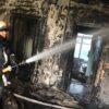 В Одессе горел санаторий, который хотят застроить