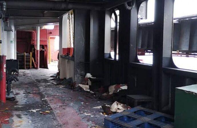 Моряк из Одессы сгорел заживо на судне у Шри-Ланки