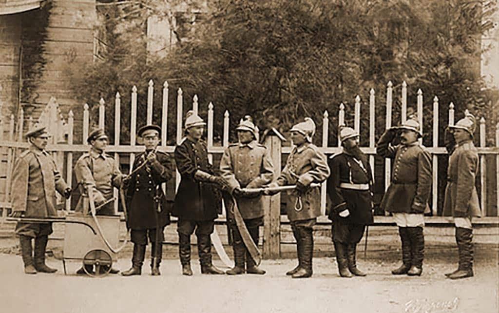 пожарные 19 век