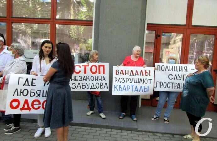 Одесская «типография Фесенко»: суд остановил действие предписания ОГА о запрете сноса зданий