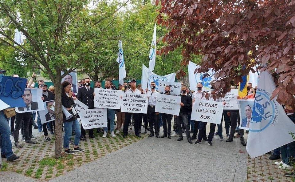 протест моряки
