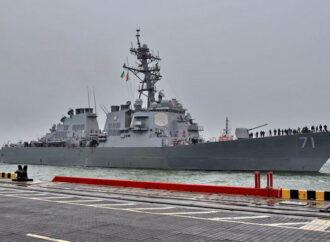 Показалось: Эсминец USS Ross находится в Одессе, а не в Крыму