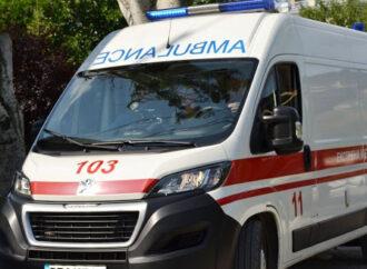В Одесской области скорая сбросила с дороги «Газель» – пострадал ребенок (видео)