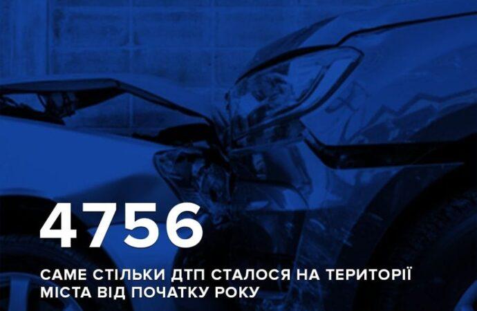 За 5 месяце в Одессе в ДТП погибли 20 человек