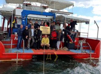 Одесситы создали подводный мемориал