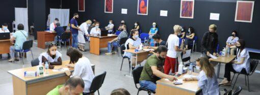 Вакцинация от COVID-19 в Одессе: 14 июня прививку получили 1682 человек (фото)